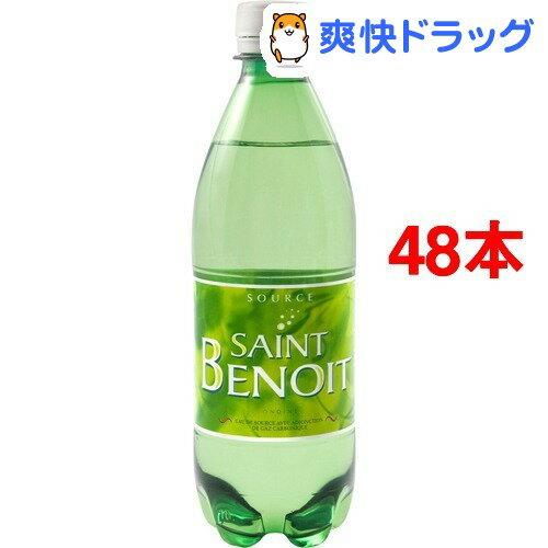 サンブノワ 炭酸水(500mL*48本)【サンブノワ(Saint Benoit)】【送料無料】