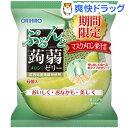 ぷるんと蒟蒻ゼリーパウチ メロン(6コ入)【オリヒロ】