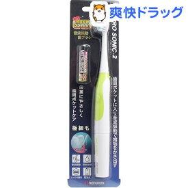 本格音波振動歯ブラシ プロソニック2 グリーン(1本入)【プロソニック】