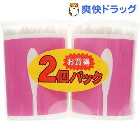 ユニバーサルデザイン ベビー綿棒 (極細型)(200本*2コパック)