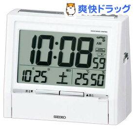 セイコー 電波目覚まし時計 トークライナー DA206W(1台)【セイコー】