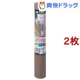 ペットマット 60*120cm ブラウン(2枚セット)