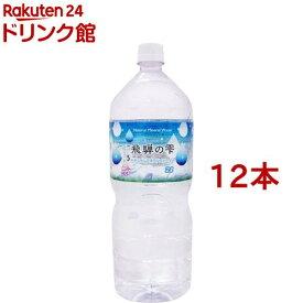 北アルプス発 飛騨の雫天然水(2L*12本入)