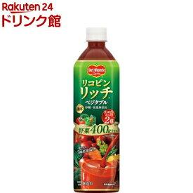 デルモンテ リコピンリッチ ベジタブル 野菜飲料(900g*12本入)【k0d】【デルモンテ】