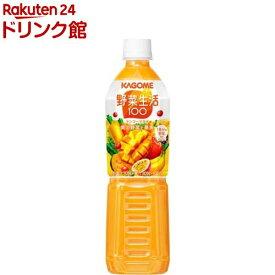 野菜生活100 マンゴーサラダ スマートPET(720ml*15本入)【h3y】【q4g】【野菜生活】