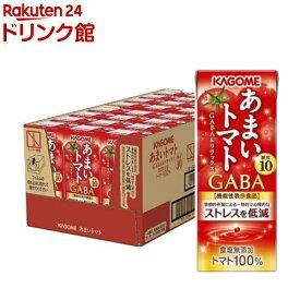 カゴメ あまいトマト GABA&リラックス(195ml*24本入)【h3y】【カゴメジュース】