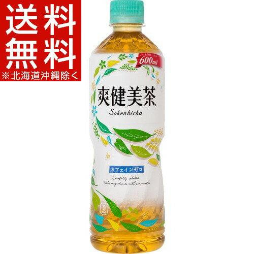 爽健美茶(600mL*24本入)【爽健美茶】【送料無料(北海道、沖縄を除く)】