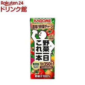 カゴメ 野菜一日これ一本(200mL*24本入)【q4g】【ot4】【野菜一日これ一本】