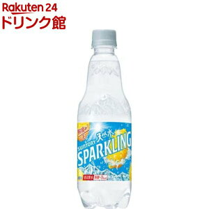 サントリー天然水スパークリング レモン 炭酸水(500ml*24本)【サントリー天然水】[炭酸水]