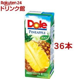 ドール パイナップルジュース100%(200ml*36本入)