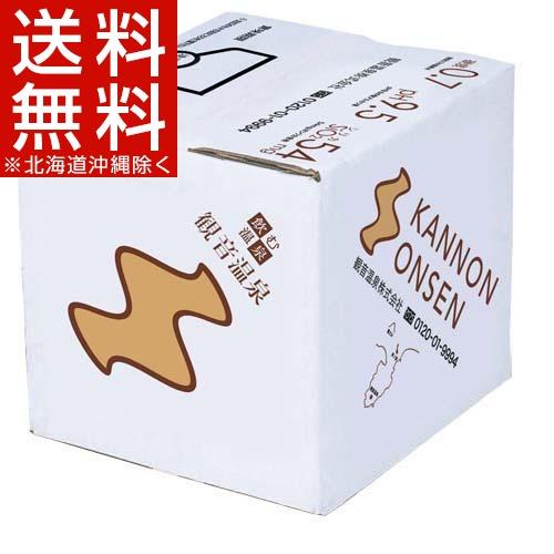 飲む温泉 観音温泉 バッグインボックス(20L)【送料無料(北海道、沖縄を除く)】
