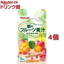 ヤクルト 朝のフルーツ青汁(7g*15袋入*4コセット)【元気な畑】