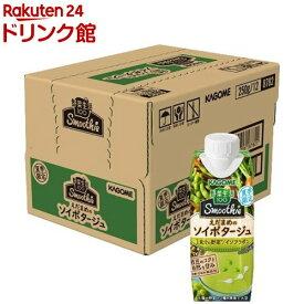 野菜生活100 Smoothie えだまめのソイポタージュ(250g*12本入)【野菜生活】