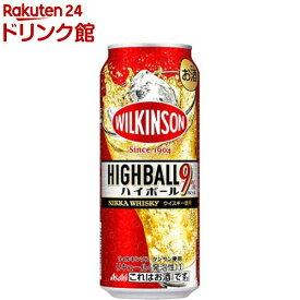 アサヒ ウィルキンソン・ハイボール 缶(500ml*24本入)【ウィルキンソンハイボール】