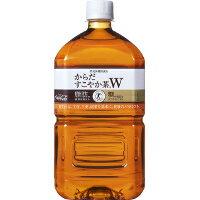 【2ケース】コカ・コーラ(コカコーラ) からだすこやか茶W 1.05L(1050ml) * 24本(2ケース)