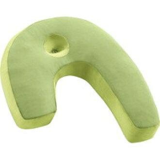 法国床具侧面寝枕睡觉优势绿色