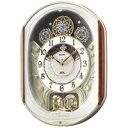【送料無料】セイコー 電波掛け時計(電波からくり時計) ウェーブシンフォニー RE562H[セイコークロック SEIKO(セイコー)]