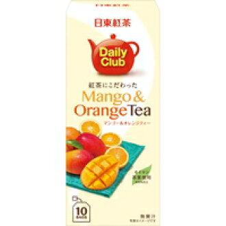 拘泥于日东红茶每天俱乐部红茶的芒果&橙子球座10袋入[三井农林]