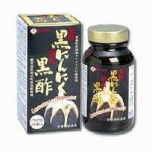 【10000円以上で本州・四国送料無料】ファイン 発酵黒にんにく黒酢 120粒