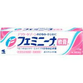【第2類医薬品】【メール便発送送料無料】小林製薬 フェミニーナ軟膏S 15g
