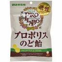 【10000円以上で本州・四国送料無料】UHA味覚糖 プロラボ プロポリスのど飴 55g