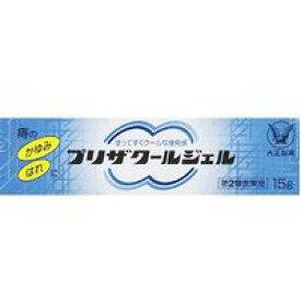 【第2類医薬品】【メール便発送送料無料】大正製薬 プリザ クールジェル 15g