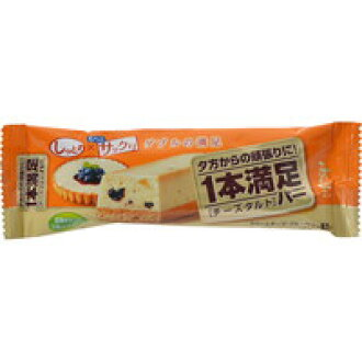 One satisfactory bar cheese tart 1 x 9 [Asahi food & healthcare 1 satisfaction bar]