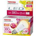 東芝 LED電球 LDA6L-D-H-E17/S 電球色