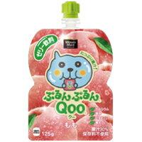 コカ・コーラ ミニッツメイド ぷるんぷるんQoo(クー) もも味125gパウチ6個入(中箱)[コカコーラ]