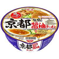 【ケース販売】日清 麺ニッポン 京都背脂醤油ラーメン 122g×12個[日清食品]