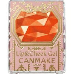 ◆2個セット/【メール便送料無料】CANMAKE キャンメイク リップ&チークジェル 02 アップルマンゴーパフェ 1.5g