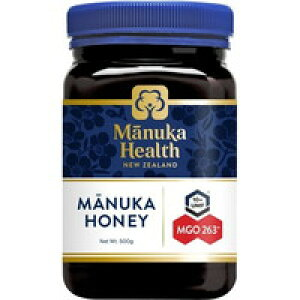 マヌカヘルス マヌカハニー MGO263+/UMF10+ (正規品 ニュージーランド産)(500g)[マヌカヘルス]