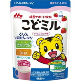 成長サポート飲料 こどミル いちごミルク味(216g)[こどミル]