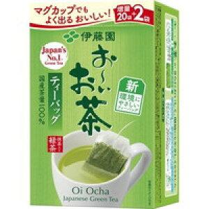 伊藤園 環境対応 おーいお茶 抹茶入り緑茶 ティーバッグ(1.8g*22袋入)[お〜いお茶]