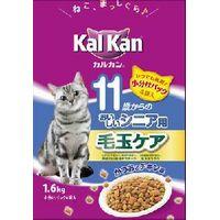 マース ジャパンリミテッド Kal Kan カルカン 11歳からのおいしいシニア用 毛玉ケア かつおとチキン味 1.6kg [マースジャパンリミテッド]
