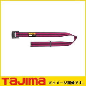 胴ベルト アルミワンフィンガーバックル ボーダーピンク Mサイズ BAM125-BPI TAJIMA タジマ
