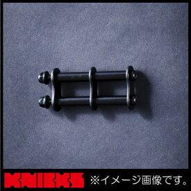 ニックス アルミ製金具一式(アルマイト加工) ブラック ALU-1-B KNICKS