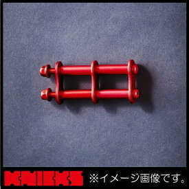 ニックス アルミ製金具一式(アルマイト加工) レッド ALU-1-R KNICKS