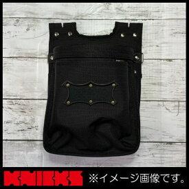 ニックス バリスティック生地2暖腰袋 ブラックワッペン BA-201BB KNICKS BA201BB