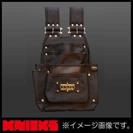 ニックス 超軽量2×4工法用バリスティクナイロン釘袋 チェーンタイプ ブラック BA-6501DX KNICKS CORDURA