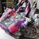 バッグ 機能性を兼ね備えた、大人の華やかバッグを。バッグインバッグ付き花柄ミニトートバッグレディース/鞄/手提げ/…