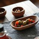 ボウル やさしい楕円形フォルムで、食卓にぬくもりを。アカシアウッド オーバルボウル日用雑貨/キッチン用品/木製食器/皿/天然木/ナチュラル/北欧/小皿/取り皿/...