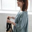「パンツにはこうでなくちゃ!」を形にしたブラウスです。パンツスタイルに華を添える刺繍ブラウスブラウス M/L/LL/3Lサイズレディース/プルオーバー/リネン混/麻混/7分袖/七分袖/トップス