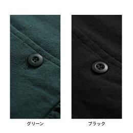 ノスタルジックは、ボタンで味わう。なつかしくて秋らしい、ダブルボタンのワンピースM/L/LL/3Lサイズレディース/ロング/7分袖/七分袖/フレア/ギャザー/綿/コットン
