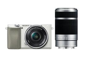デジタル一眼カメラ α6100 ダブルズームレンズキットILCE-6100Y ホワイト