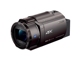 【在庫あります 即納可能】デジタル4KビデオカメラレコーダーFDR-AX45 ブロンズブラウン