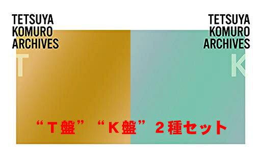"【T盤+K盤 全2種セット】TETSUYA KOMURO ARCHIVES ""T"" & ""K"" [4CD+4CD] 小室哲哉作品集 2018/6/27発売 AVCD-93892 / AVCD-93896 【ポイント10倍】"
