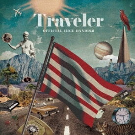 【先着購入者特典(A4クリアファイル(other ver.))付き】 Official髭男dism(ヒゲダン)/Traveler (通常盤/初回仕様盤) (CD) 2019/10/9発売 PCCA-4822