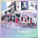 【初回プレス仕様】IZ*ONE(アイズワン)/Vampire(Type-B) (CD+DVD) 2019/9/25発売 UPCH-80523