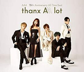 AAA/AAA 15th Anniversary All Time Best -thanx AAA lot- (CD4枚組) 2020/2/19発売 AVCD-96453